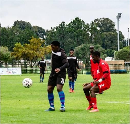 Day one of SAFA Gauteng men promotional play offs