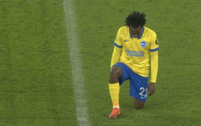 Percy Tau impresses in his debut for Brighton