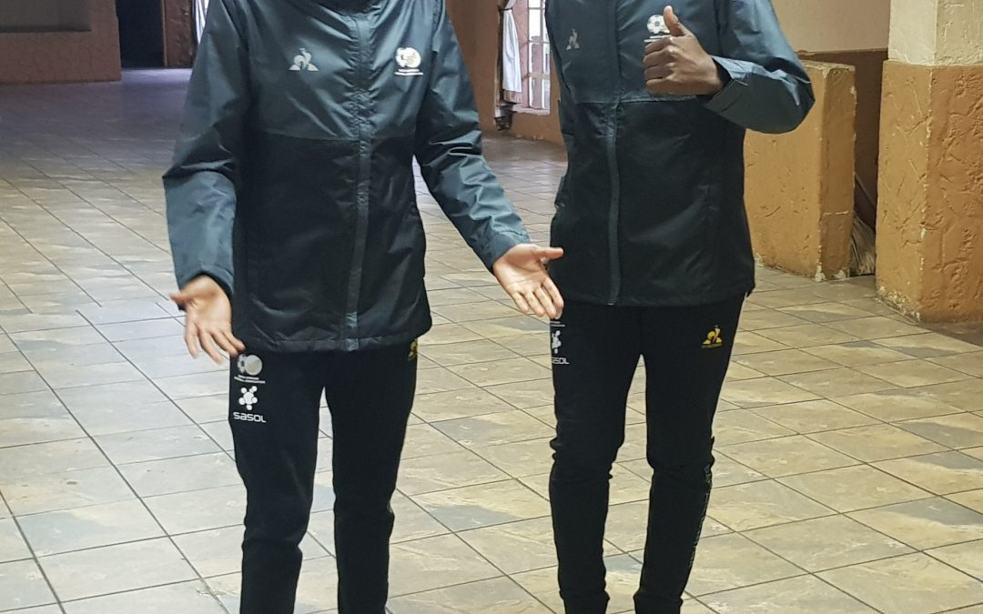Kgatlana and Matlou join Sasol Banyana Banyana in camp