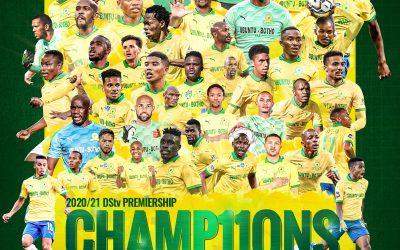 Congratulations to Mamelodi Sundowns FC
