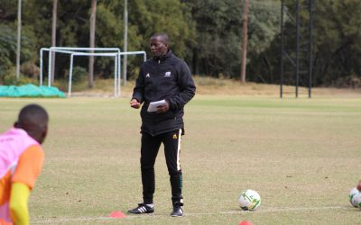 Assistant coach Helman Mkhalele challenges new Bafana Bafana players to write own history