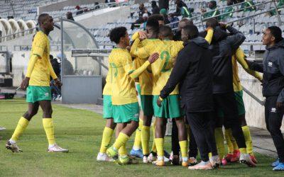 Bafana Bafana score dazzling win over Uganda Cranes