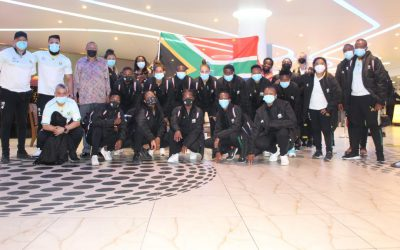 Banyana Banyana team complete as overseas players join camp.