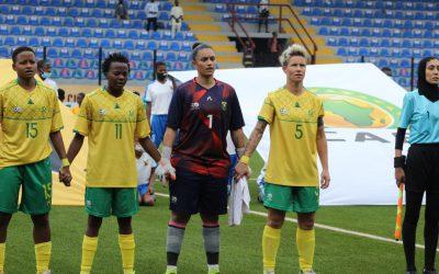 Banyana Banyana and Super Falcons rekindle rivalry in Aisha Buhari Cup