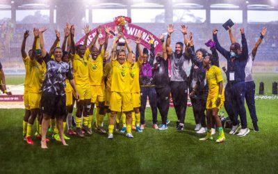 Banyana Banyana coach praises team after winning Aisha Buhari Cup