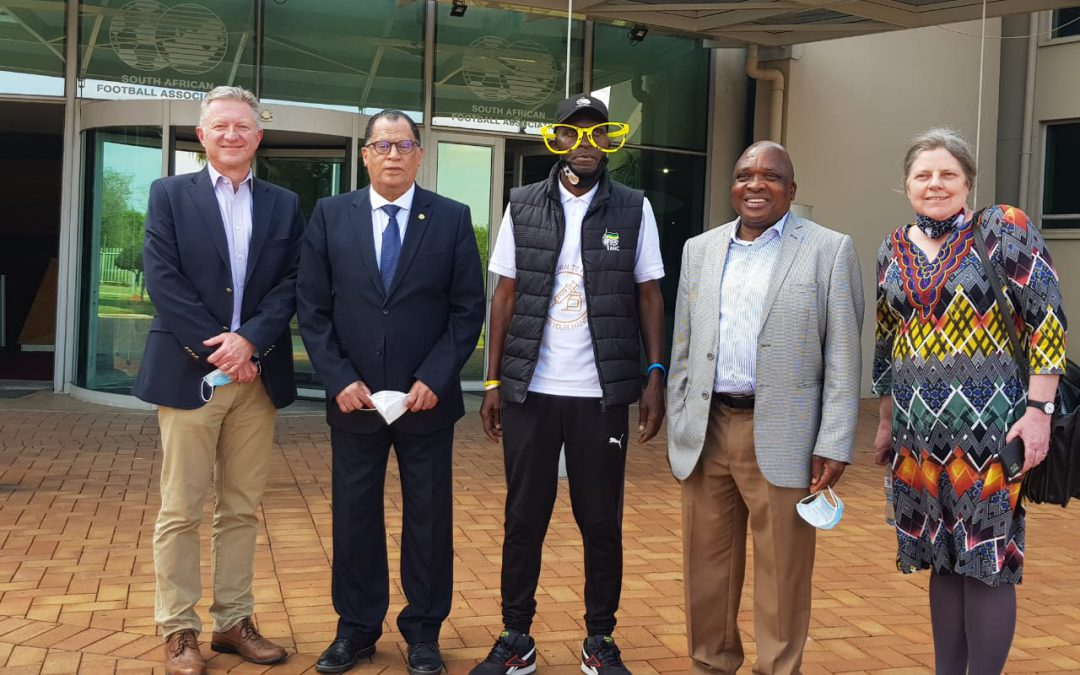 SAFA, Minister of Health agree on return of fans to the stadium
