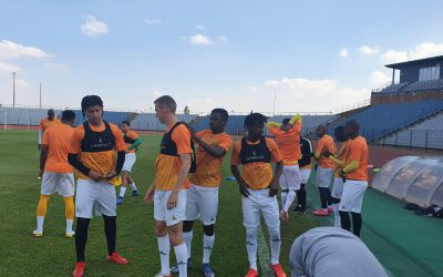 Bafana Bafana camp locked and loaded as all players are present