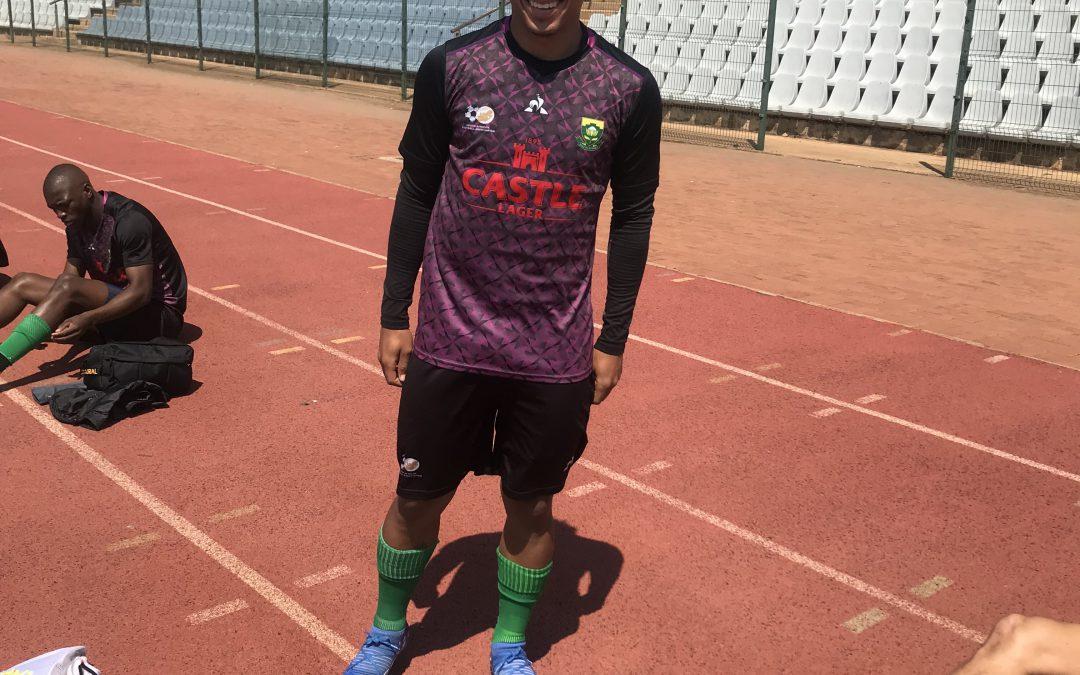 Ethan Brooks back in the Bafana Bafana Squad
