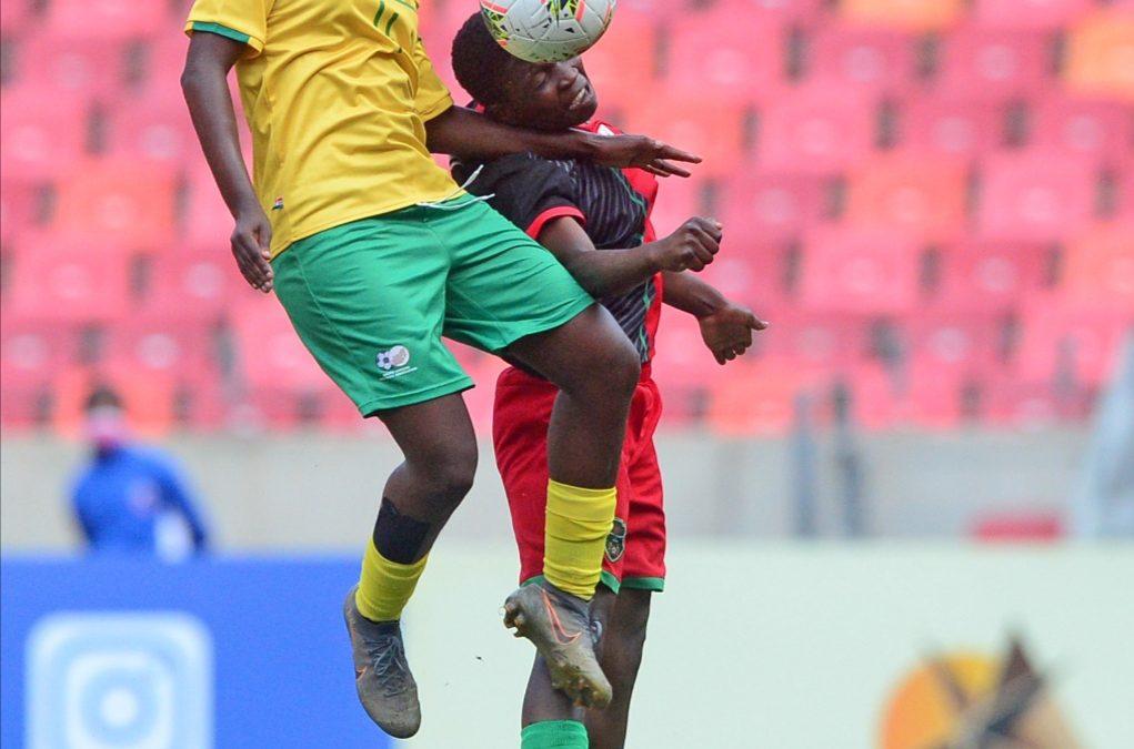 Banyana Banyana title defence hopes tumbledown after defeat to Malawi