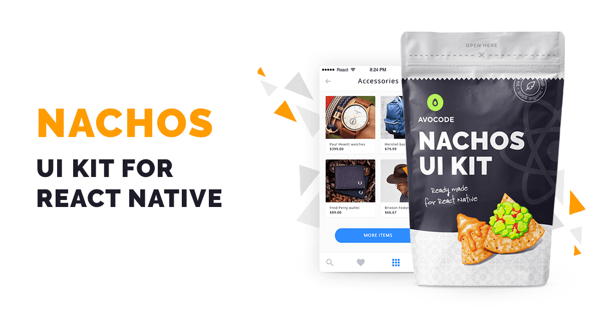 Nachos UI Kit for React Native - by Avocode
