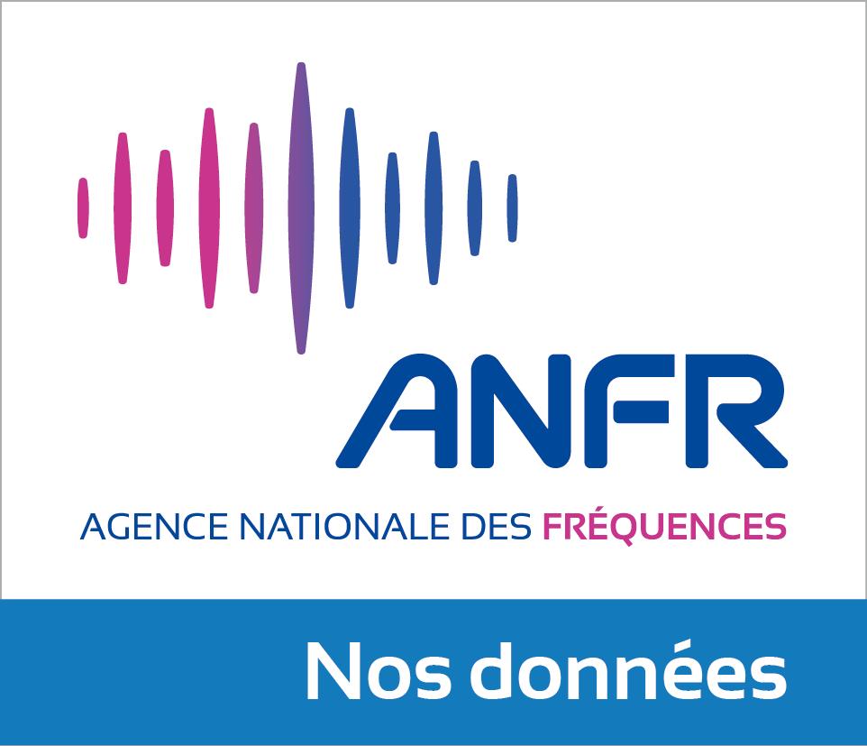 Portail OpenData de l'Agence nationale des fréquences