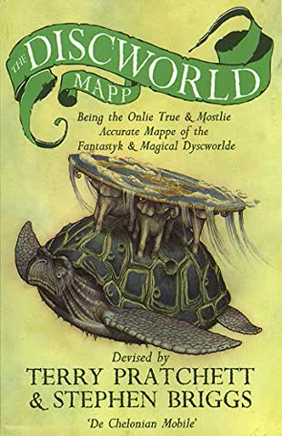 The Discworld Mapp. Farbige Karte und Begleitheft (Corgi Books)