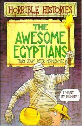 The Awesome Egyptians. (Lernmaterialien) (Horrible Histories)