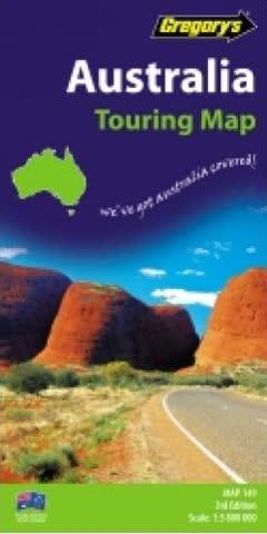 Australia Touring Map 149