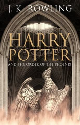 Harry Potter, book 5 - Harry Potter and the Order of the Phoenix (Adult Edition)