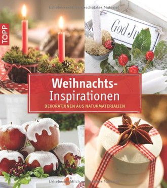 kollektion.kreativ WeihnachtsInspirationen: Dekorationen aus Naturmaterialien