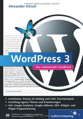 WordPress 3: Das umfassende Handbuch (Galileo Computing)