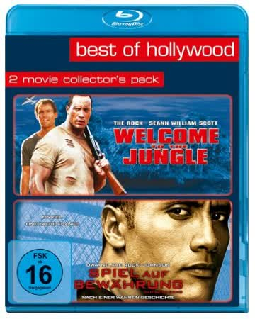 Welcome to the Jungle/Spiel auf Bewährung - Best of Hollywood/2 Movie Collector's Pack [Blu-ray]