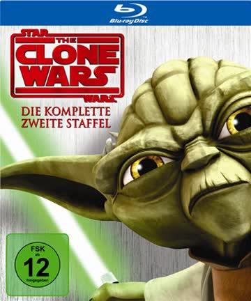Star Wars - The Clone Wars - Staffel 2 [Blu-ray]