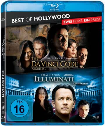 Illuminati/The Da Vinci Code - Sakrileg - Best of Hollywood/2 Movie Collector's Pack [Blu-ray]