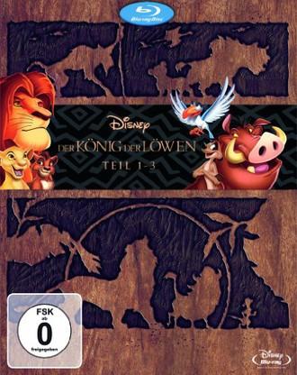 Der König der Löwen 1-3 - Trilogie - Diamond Edition [Blu-ray] [Limited Edition]