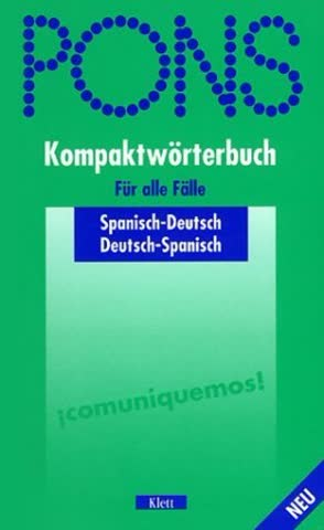 PONS Kompaktwörterbuch Spanisch