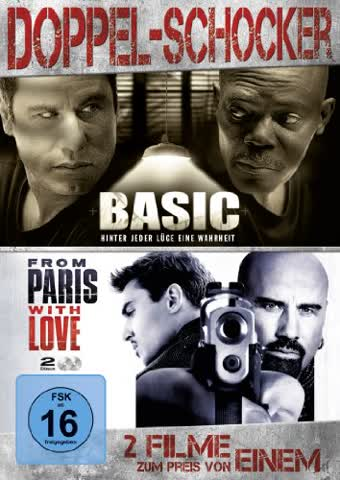 Basic / From Paris with Love [2 DVDs]