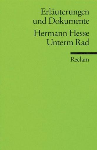 Hermann Hesse: Unterm Rad