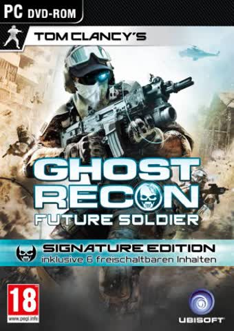 Tom Clancy's Ghost Recon Future Soldier - Signature Edition [AT PEGI] - [PC]