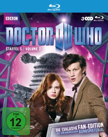 Doctor Who - Staffel 5.2 - Fan Edition [Blu-ray]