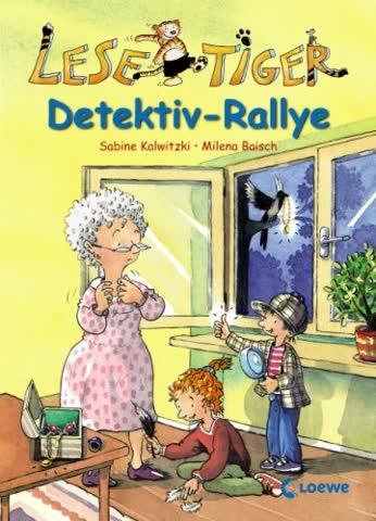 Lesetiger - Detektiv-Rallye