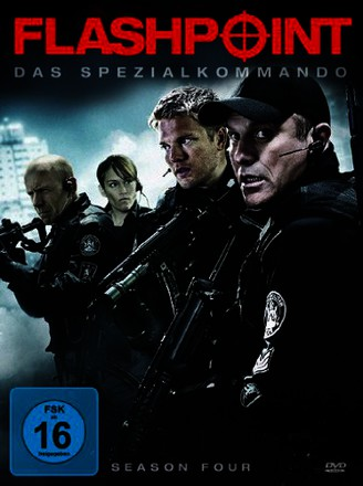 Flashpoint - Das Spezialkommando, Season Four [4 DVDs]
