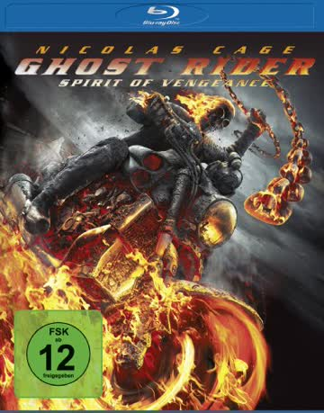 GHOST RIDER - SPIRIT OF VENGEA [Blu-ray] [2011]