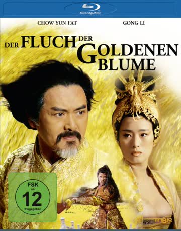 Der Fluch der Goldenen Blume - Curse of the Golden Flower [Blu-ray]
