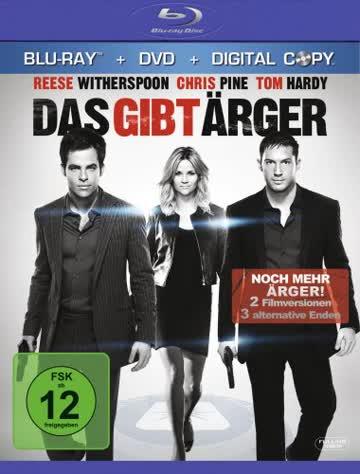 Das gibt Ärger (+ DVD) [Blu-ray]