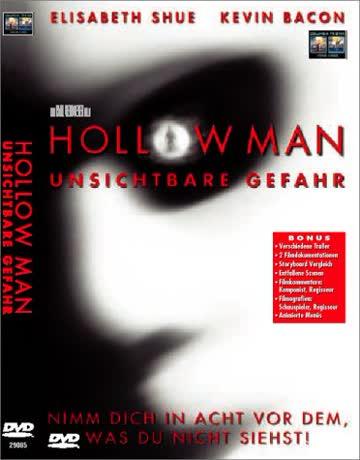 DVD HOLLOW MAN - UNSICHTBARE GEFAHR