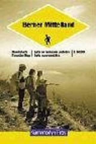 Berner Mittelland Hiking Map
