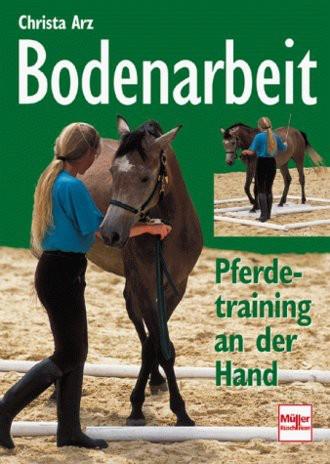 Bodenarbeit. Pferdetraining an der Hand