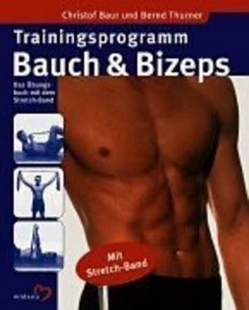 Trainingsprogramm Bauch & Bizeps, m. Stretch-Band