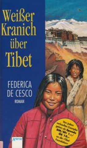 Weißer Kranich über Tibet. (Ab 12 J)