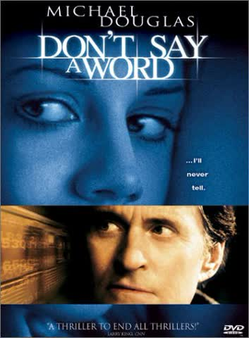 Don't Say a Word [DVD] [2001] [Region 1] [US Import] [NTSC]