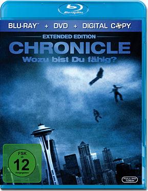 Chronicle: Wozu bist du fähig? - Extended Edition (Blu-Ray + DVD + Digital Copy)
