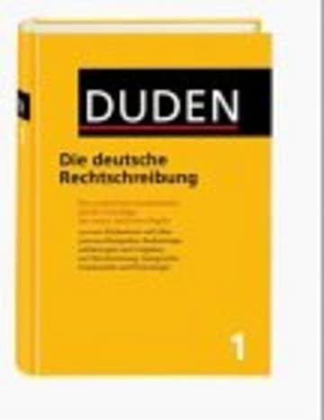 Die deutsche Rechtschreibung, Bd 1: 1 - Die Rechtschreibung (Duden)