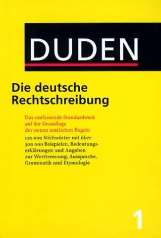 Der Duden, 12 Bde., Bd.1, Duden Die deutsche Rechtschreibung, neue Rechtschreibung