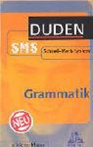 Grammatik. Duden SMS. 5. bis 10. Klasse. (Lernmaterialien)