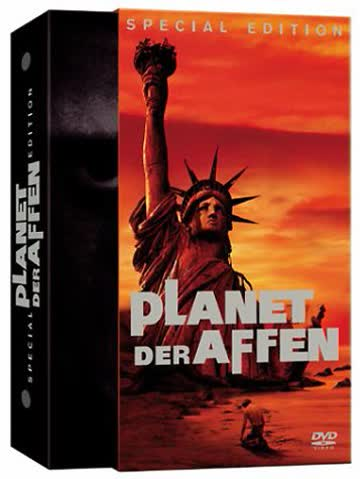 Planet of the Apes [DVD] [Import]