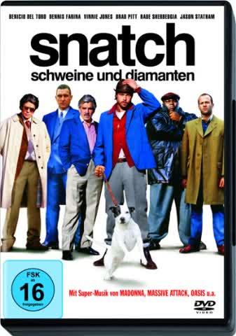 DVD SNATCH - SCHWEINE UND DIAMANTEN