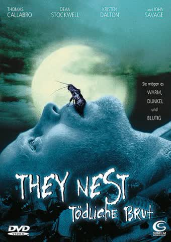 """They Nest - Tödliche Brut [DVD] (2001) Thomas Calabro; Dean Stockwell"""