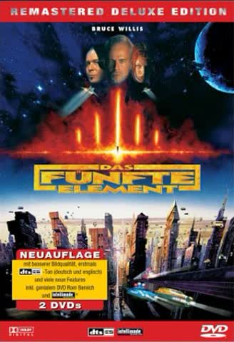 Das fünfte Element - Remastered Deluxe Edition (2 DVDs) [Import allemand]