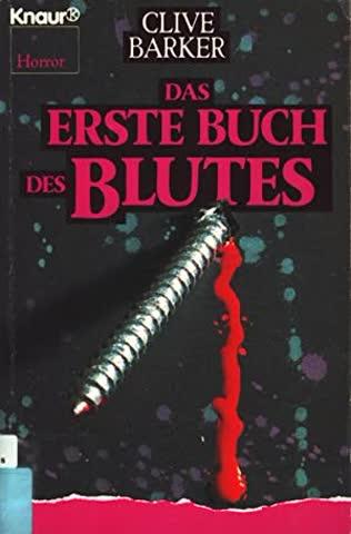 Das erste Buch des Blutes.